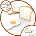 Toast + Egg Breakfast Post-it Set
